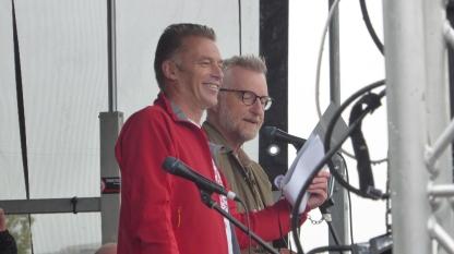 Chris Packham and Billy Bragg